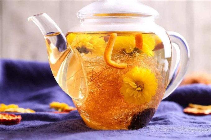 糖尿病茶饮-菊花人参茶